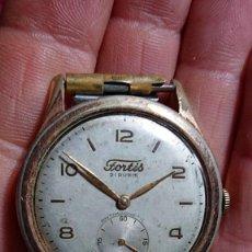 Relojes de pulsera: RELOJ PULSERA MARCA FORTIS 21 RUBIS ANTIMAGNETICO REVISADO POR RELOJERO ESFERA DE 3,1MM. Lote 190903761