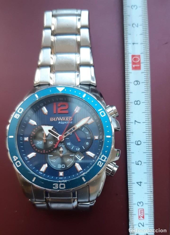 RELOJ MARCA DUWARD AQUASTAR DE UNA ANTIGUA RELOJERIA (Relojes - Pulsera Carga Manual)