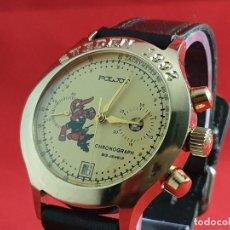 Relojes de pulsera: RELOJ CRONÓGRAFO RUSO POLJOT CALIBRE 3133 DE 1992, RELOJ N.O.S (NEW OLD STOCK). Lote 191065287