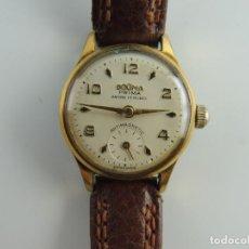 Relojes de pulsera: ANTIGUO RELOJ PULSERA CARGA MANUAL MARCA DOGMA PRIMA SWISS 15 RUBIS ANTIMAGNETIC . Lote 191126055