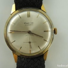 Relojes de pulsera: ANTIGUO RELOJ PULSERA CARGA MANUAL MARCA ADRIA 17 RUBIS INCABLOC. Lote 191126596
