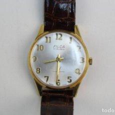 Relojes de pulsera: *RE-7. RELOJ DE PULSERA FILCA. 17 RUBIS. SWISS MADE.. Lote 191177066