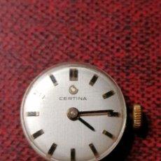 Relojes de pulsera: ESFERA RELOJ CERTINA DE SEÑORA FUNCIONANDO. Lote 191332325