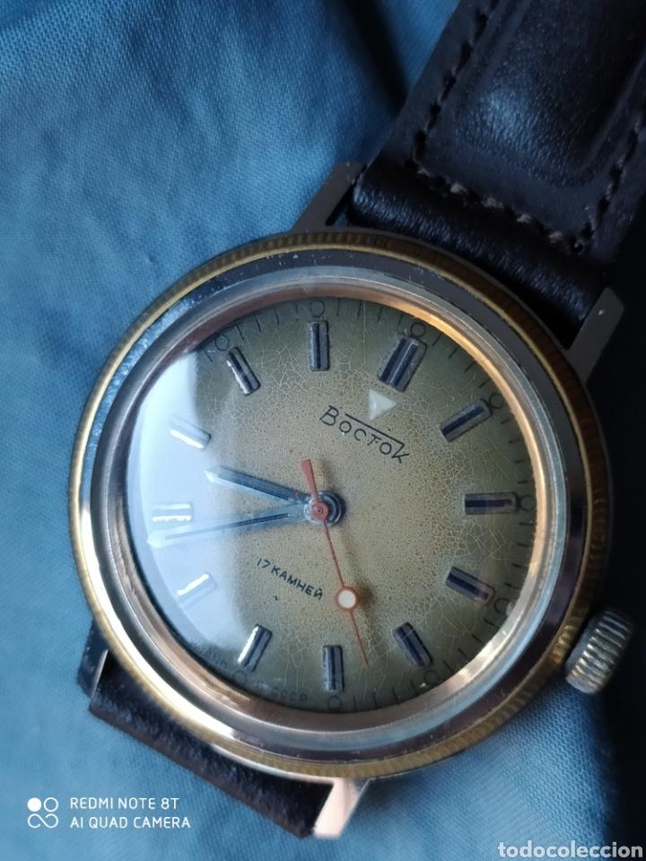 Relojes de pulsera: Reloj mecanico Ruso Vostok URSS - Foto 2 - 191373266