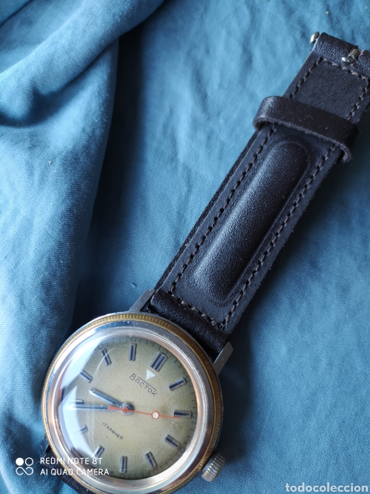 Relojes de pulsera: Reloj mecanico Ruso Vostok URSS - Foto 5 - 191373266