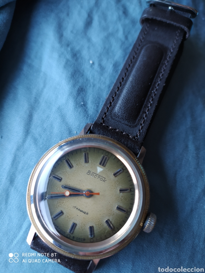 Relojes de pulsera: Reloj mecanico Ruso Vostok URSS - Foto 7 - 191373266