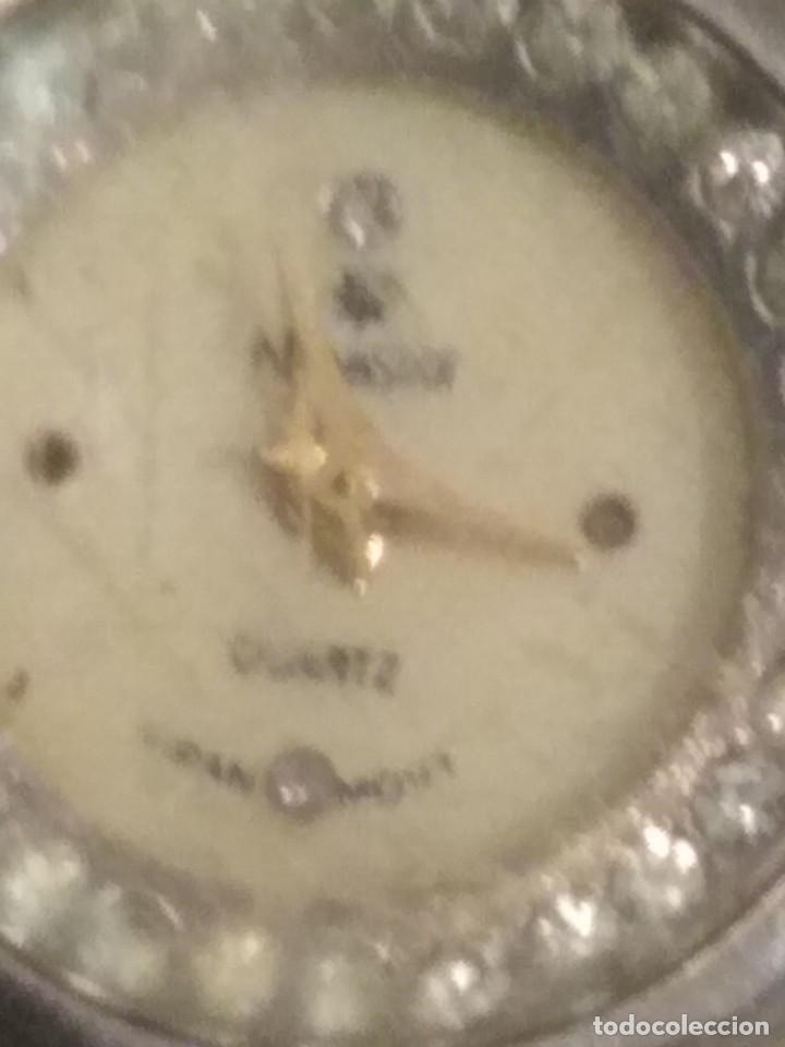 Relojes de pulsera: Reloj de señora de pulsera marca novastar con piedras blancas ref 0006 - Foto 3 - 191751312
