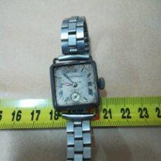 Relojes de pulsera: RELOJ PULSERA PLATA CHRONOMETER FIX EL TRUST NUMERADO. Lote 191894841