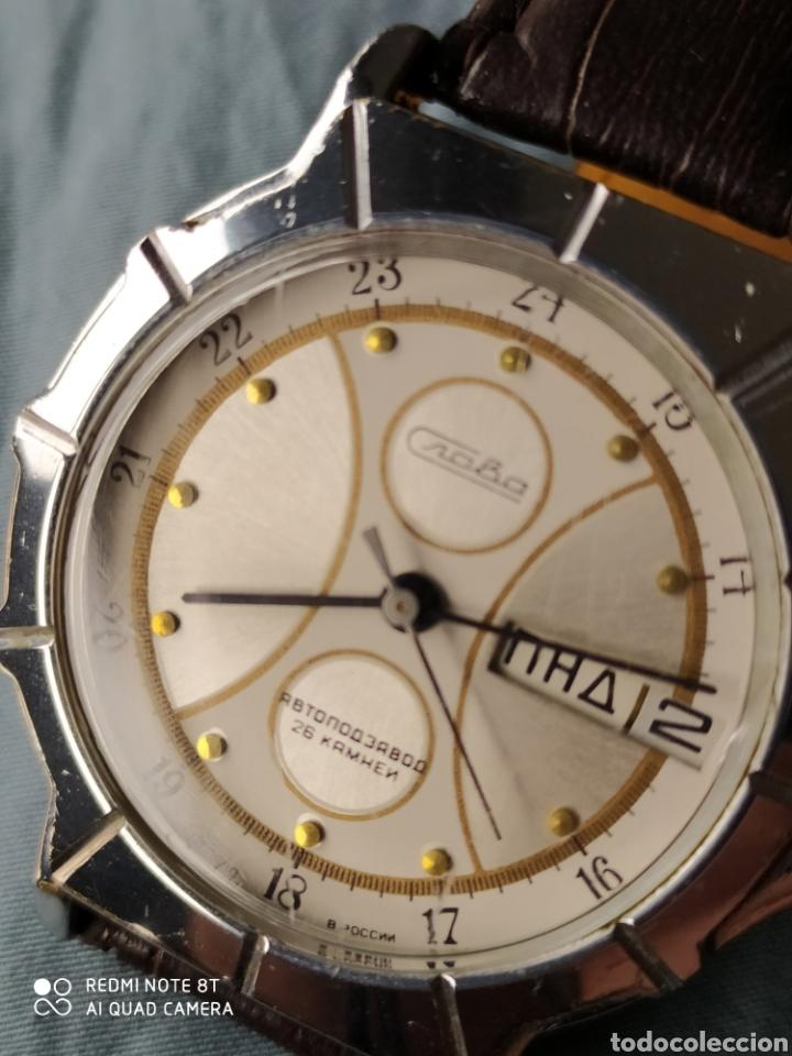 Relojes de pulsera: Reloj ruso automatico Slava URSS - Foto 8 - 180159972