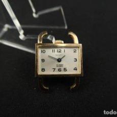 Relojes de pulsera: ANTIGUO RELOJ DE CUERDA MARCA SCOTT 15 RUBIS CHAPADO EN ORO. Lote 192895318