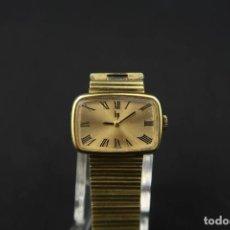Relojes de pulsera: ANTIGUO RELOJ DE CUERDA FRANCES MARCA LIP CHAPADO EN ORO. Lote 192895452