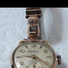 Relojes de pulsera: RELOJ BELORA DE CUERDA 15 RUBIS. Lote 193429492