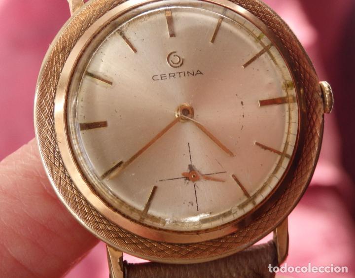 RELOJ DE CUERDA CERTINA FUNCIONANDO (Relojes - Pulsera Carga Manual)