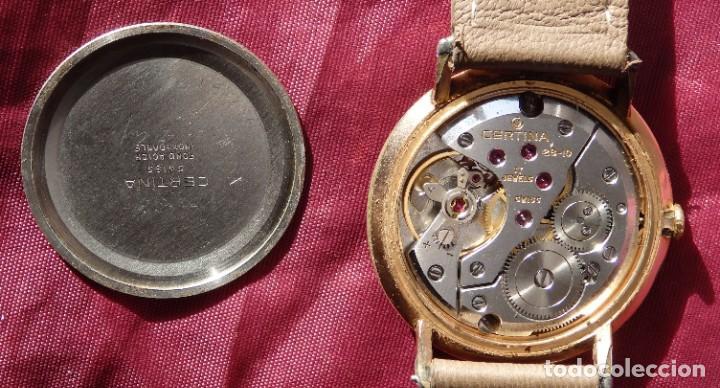 Relojes de pulsera: RELOJ DE CUERDA CERTINA FUNCIONANDO - Foto 2 - 193614457