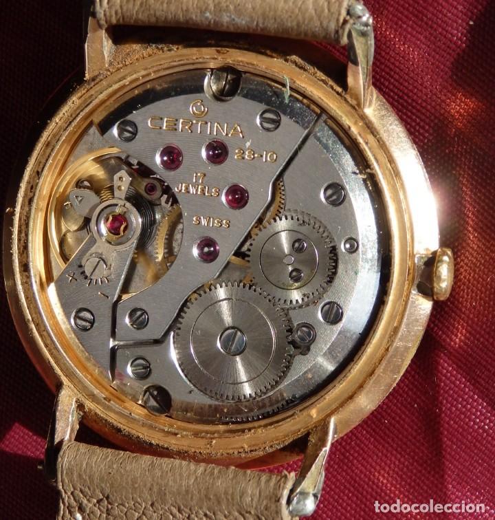 Relojes de pulsera: RELOJ DE CUERDA CERTINA FUNCIONANDO - Foto 3 - 193614457