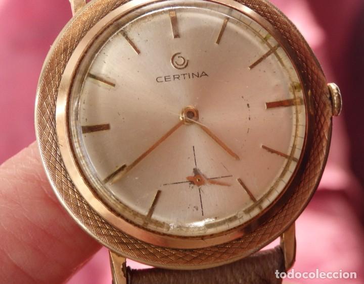 Relojes de pulsera: RELOJ DE CUERDA CERTINA FUNCIONANDO - Foto 6 - 193614457