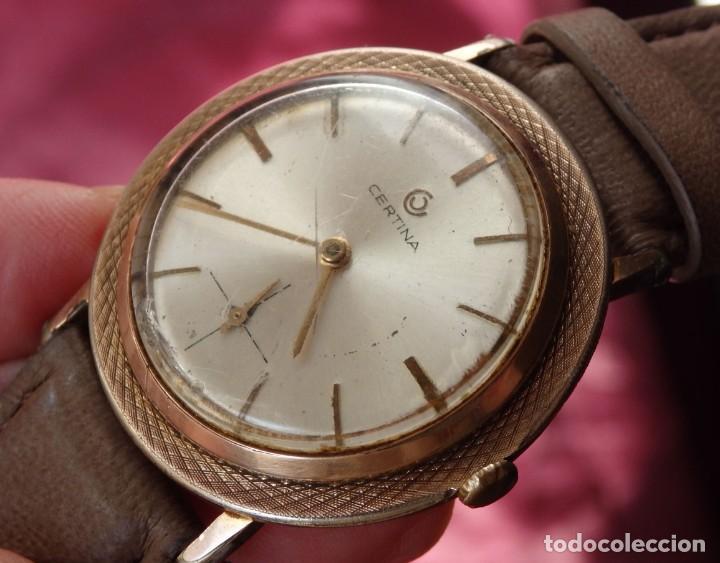 Relojes de pulsera: RELOJ DE CUERDA CERTINA FUNCIONANDO - Foto 7 - 193614457
