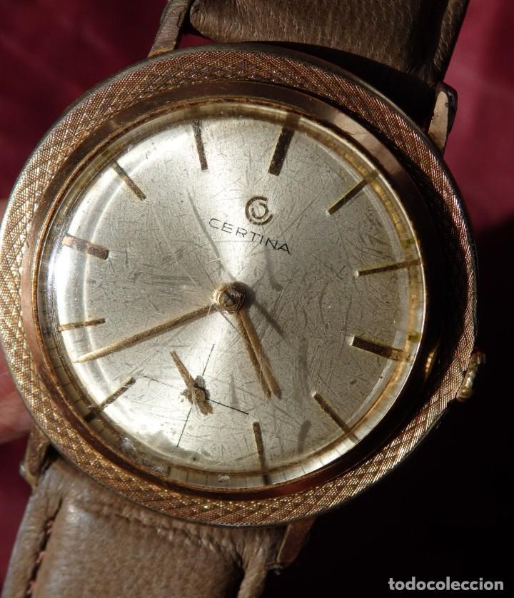 Relojes de pulsera: RELOJ DE CUERDA CERTINA FUNCIONANDO - Foto 9 - 193614457