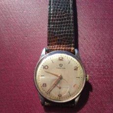 Relojes de pulsera: ANTIGUO RELOJ CAJA DE ACERO MARCA OMEGA , FUNCIONANDO PERFECTAMENTE 3,6X3,3 CM .. Lote 193626360