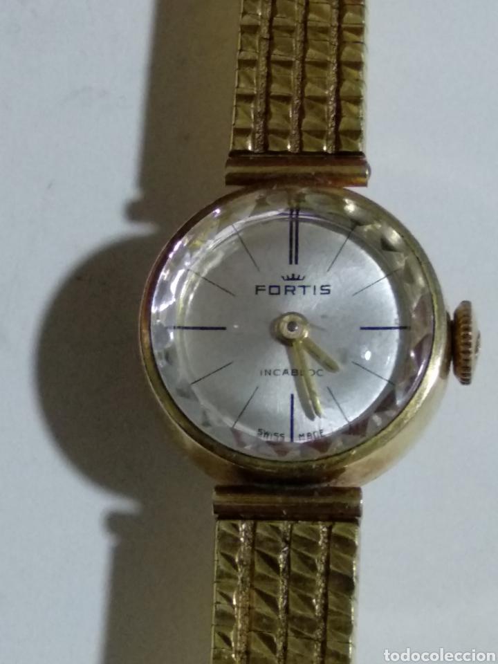 ANTIGUO RELOJ FORTIS DE SEÑORA (Relojes - Pulsera Carga Manual)