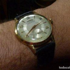 Relojes de pulsera: PRECIOSO RELOJ DOGMA PRIMA SWISS MADE 38MM ETA 853 PRECIOSO 15 RUBIS AÑOS 40 TIPO CYMA OMEGA. Lote 194202602
