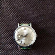 Relojes de pulsera: RELOJ DE PULSERA CAUNY PRIMA SWISS MADE MECANICO PARA MUJER EN FUNCIONAMIENTO. Lote 194209108