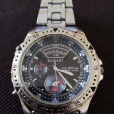 Relojes de pulsera: RELOJ DE PULSERA RADIANT CRONOGRAFICO QUARZO EN FUNCIONAMIENTO. Lote 194211137