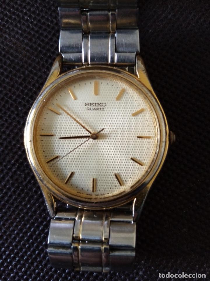 Relojes de pulsera: RELOJ DE PULSERA SEIKO QUARZO PARA HOMBRE EN FUNCIONAMIENTO - Foto 2 - 194212760