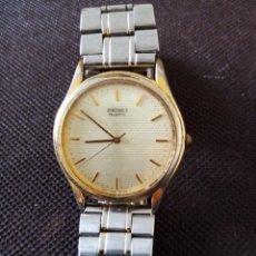 Relojes de pulsera: RELOJ DE PULSERA SEIKO QUARZO PARA HOMBRE EN FUNCIONAMIENTO. Lote 194212760