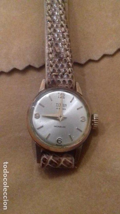 Relojes de pulsera: TITAN CUERDA MANUAL MUJER - Foto 2 - 194221675