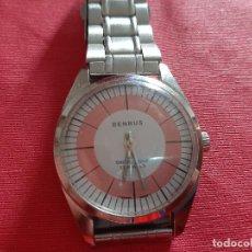 Relojes de pulsera: RELOJ BENRUS DE CUERDA, 35 MM SCC, NO COJE CUERDA.. Lote 194290095