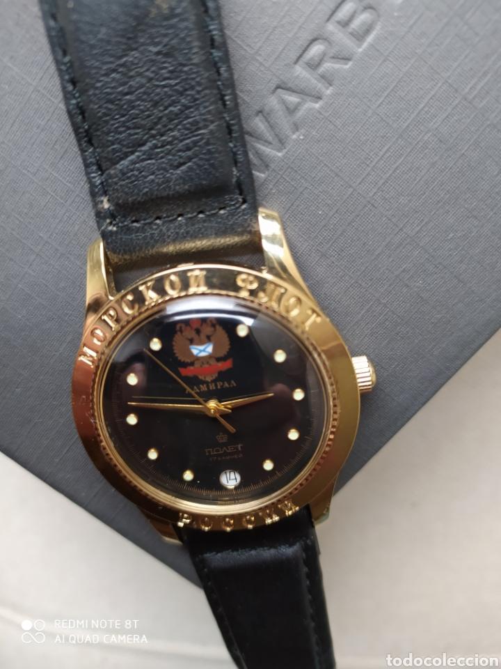Relojes de pulsera: Reloj mecanico ruso Poljot Admiral serie limitada - Foto 12 - 194223513