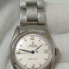 Relojes de pulsera: ROLEX OYSTERDATE 6066 DE 1951 FUNCIONANDO INCREÍBLEMENTE PERFECTO. Lote 194332944
