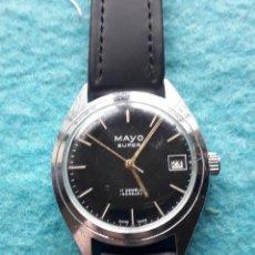 Relojes de pulsera: RELOJ MARCA MAYO SUPER. CLÁSICO DE CABALLERO. FUNCIONANDO.. Lote 194334106