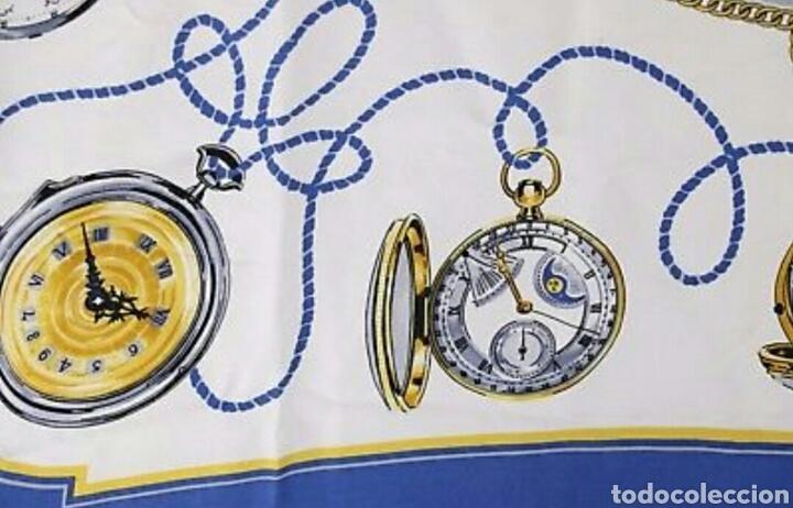 Relojes de pulsera: PRECIOSO PAÑUELO 100% SEDA ROLEX GENEVE MOTIVO RELOJES BOLSILLO AAA - Foto 4 - 194335026