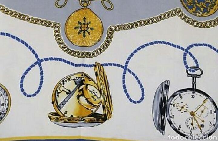 Relojes de pulsera: PRECIOSO PAÑUELO 100% SEDA ROLEX GENEVE MOTIVO RELOJES BOLSILLO AAA - Foto 5 - 194335026