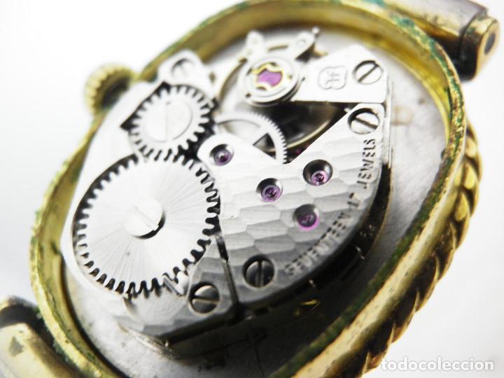Relojes de pulsera: ANTIGUO ORIGINAL NEWTON DAMA MECANICO AÑOS 70 BUEN ESTADO FUNCIONA LOTE WATCHES - Foto 3 - 194337593