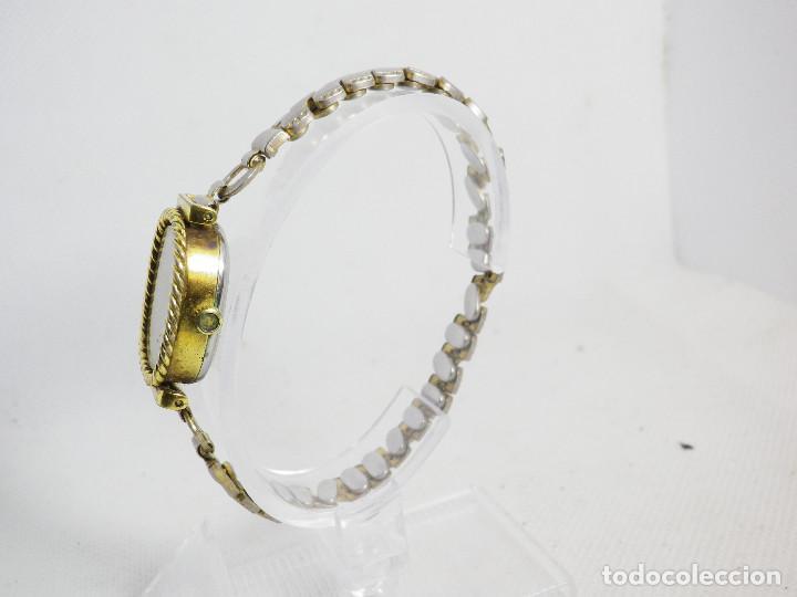 Relojes de pulsera: ANTIGUO ORIGINAL NEWTON DAMA MECANICO AÑOS 70 BUEN ESTADO FUNCIONA LOTE WATCHES - Foto 7 - 194337593