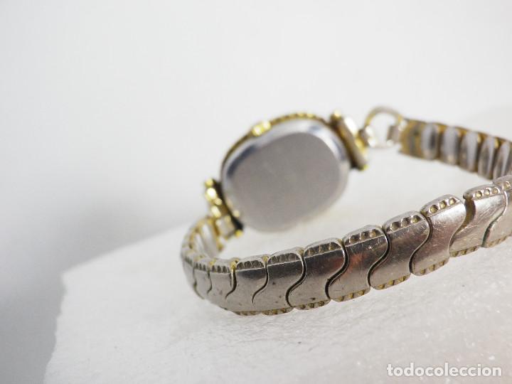 Relojes de pulsera: ANTIGUO ORIGINAL NEWTON DAMA MECANICO AÑOS 70 BUEN ESTADO FUNCIONA LOTE WATCHES - Foto 10 - 194337593