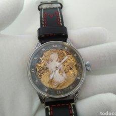 Relojes de pulsera: ROLEX LEVER FUNCIONANDO PERFECTAMENTE ART DECO 1920-1930 EN ESQUELETO DAMA EN EL TOCADOR. Lote 194344078