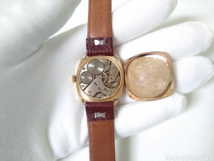 Relojes de pulsera: RELOJ ART DECO FUNCIONANDO DECADA 1920 CHAPADO ORO EXCELENTE AAA - Foto 2 - 194345626