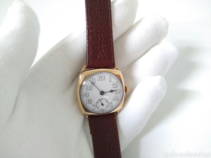 Relojes de pulsera: RELOJ ART DECO FUNCIONANDO DECADA 1920 CHAPADO ORO EXCELENTE AAA - Foto 3 - 194345626