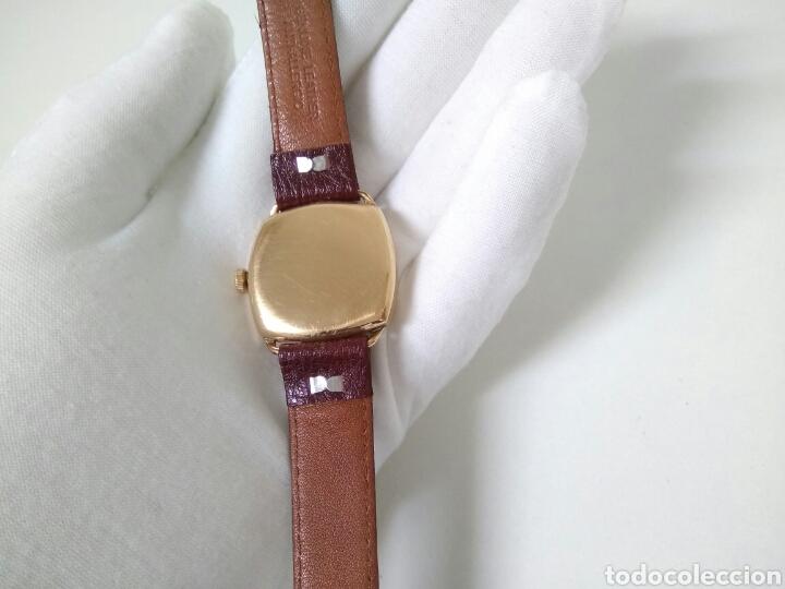 Relojes de pulsera: RELOJ ART DECO FUNCIONANDO DECADA 1920 CHAPADO ORO EXCELENTE AAA - Foto 5 - 194345626
