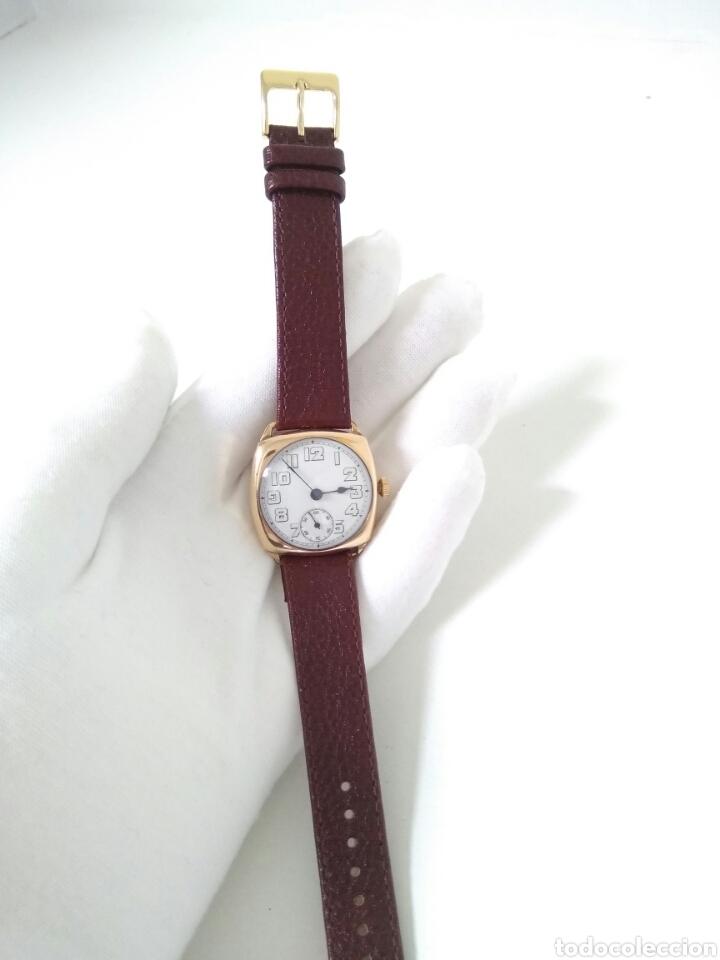 Relojes de pulsera: RELOJ ART DECO FUNCIONANDO DECADA 1920 CHAPADO ORO EXCELENTE AAA - Foto 6 - 194345626