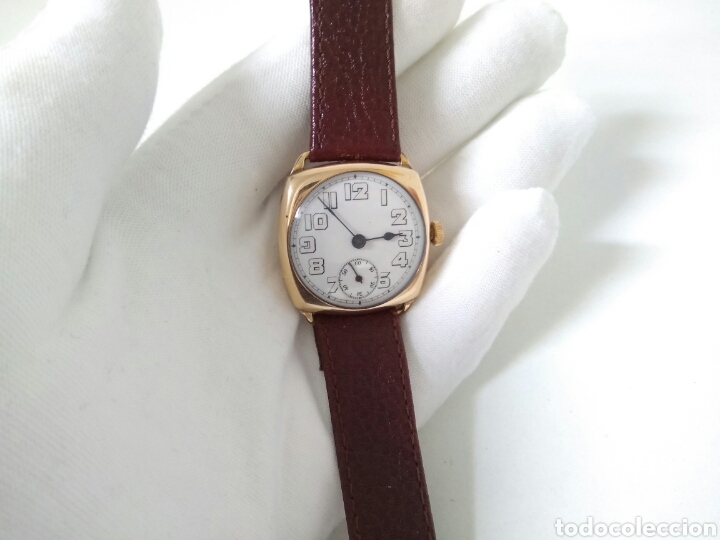 Relojes de pulsera: RELOJ ART DECO FUNCIONANDO DECADA 1920 CHAPADO ORO EXCELENTE AAA - Foto 8 - 194345626