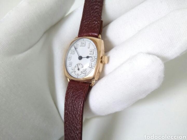 Relojes de pulsera: RELOJ ART DECO FUNCIONANDO DECADA 1920 CHAPADO ORO EXCELENTE AAA - Foto 9 - 194345626