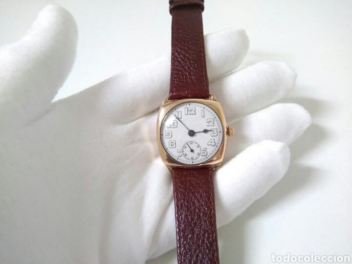 Relojes de pulsera: RELOJ ART DECO FUNCIONANDO DECADA 1920 CHAPADO ORO EXCELENTE AAA - Foto 10 - 194345626