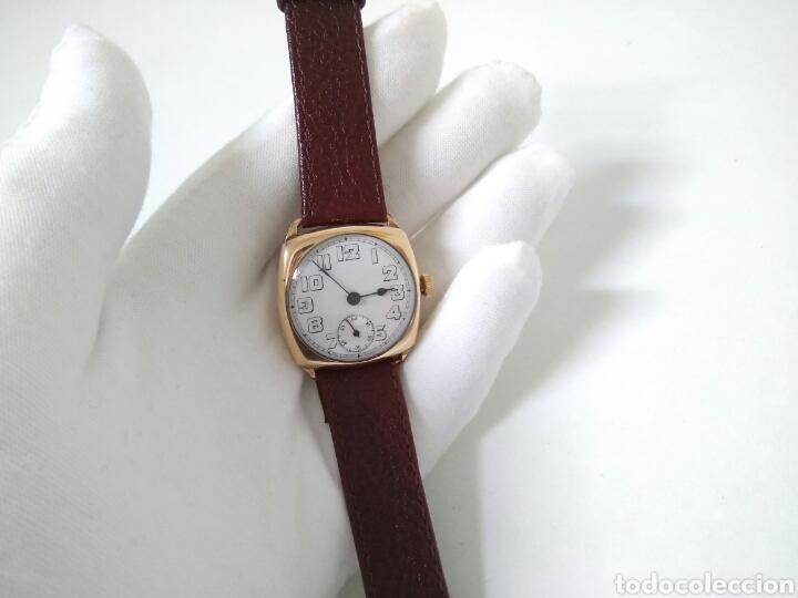 Relojes de pulsera: RELOJ ART DECO FUNCIONANDO DECADA 1920 CHAPADO ORO EXCELENTE AAA - Foto 12 - 194345626