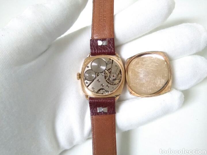 Relojes de pulsera: RELOJ ART DECO FUNCIONANDO DECADA 1920 CHAPADO ORO EXCELENTE AAA - Foto 13 - 194345626