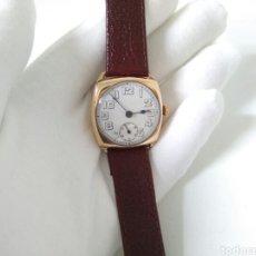 Relojes de pulsera: RELOJ ART DECO FUNCIONANDO DECADA 1920 CHAPADO ORO EXCELENTE. Lote 194345626